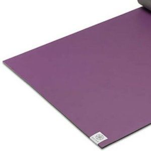 Gaiam Purple Mat Yoga Dri Grip Dry Thin Purple